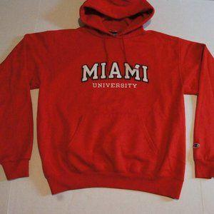Champion Miami of Ohio Hoodie Medium